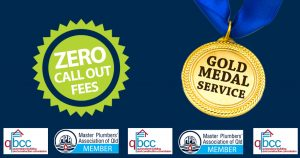 Zero Call Out Fees and Gold Medal Service