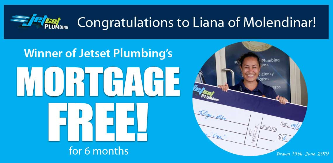The winner from our mortgage free promo