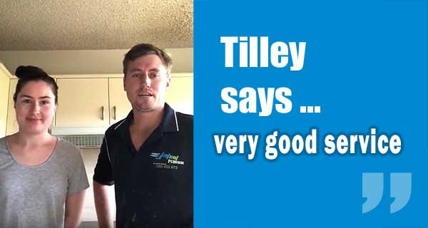 Tilley Customer Review from Yeronga